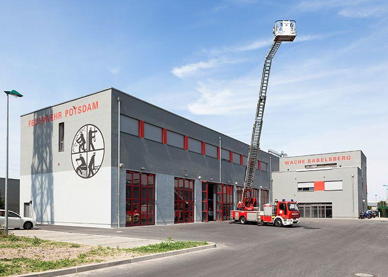 Neubau Feuerwache Potsdam