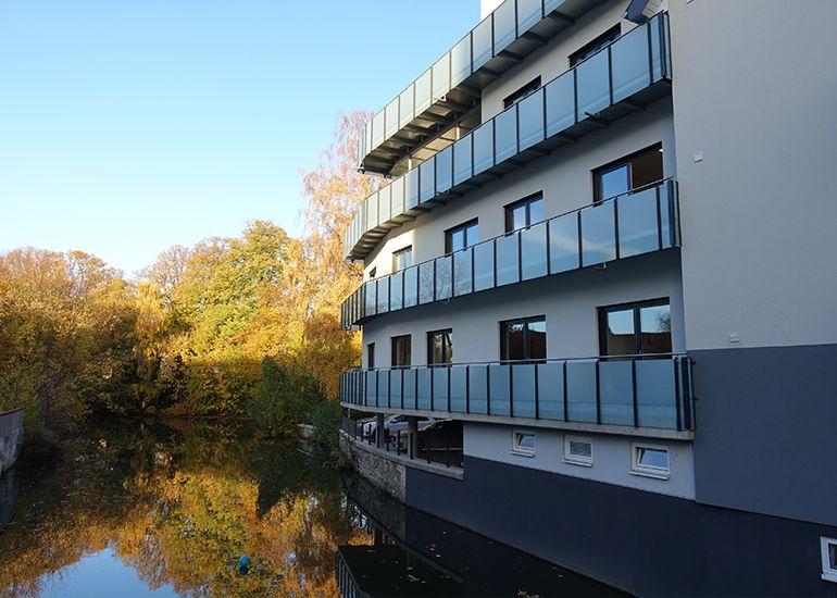Neubau und Umbau eines Wohn- und Geschäftshauses, Herrenteichstraße, Osnabrück