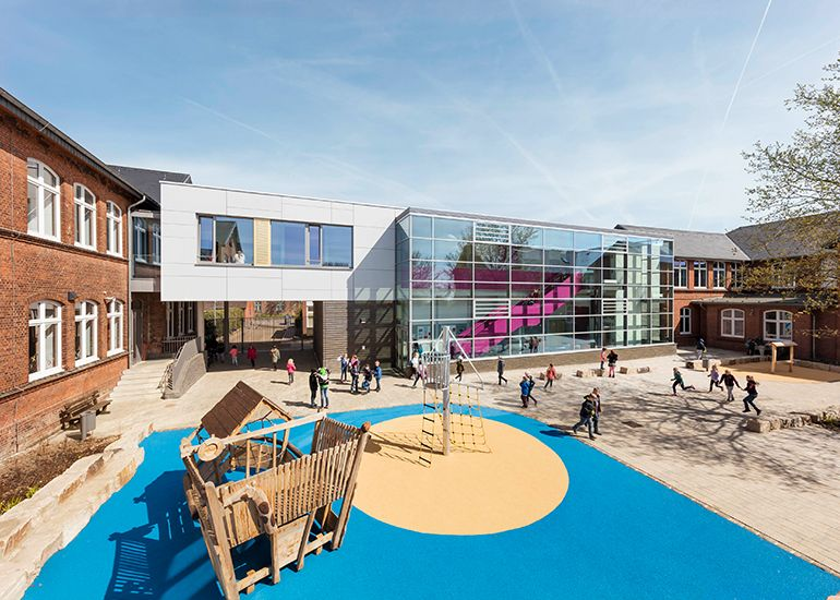 Neubau und Umbau Grundschule Meldorf