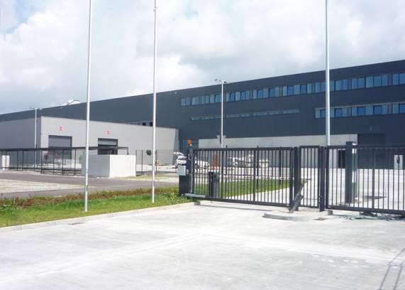 Logistikzentrum MTU, Kluftern